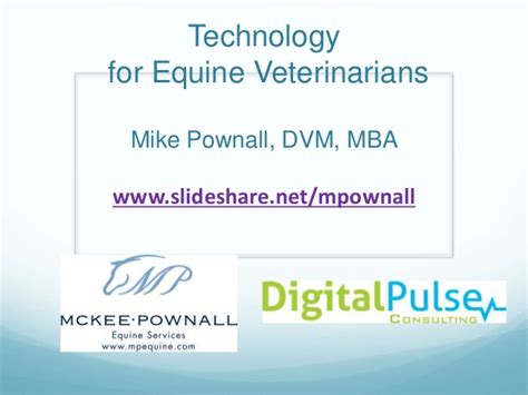 Mba Programs For Veterinarians by Technology For Veterinarians