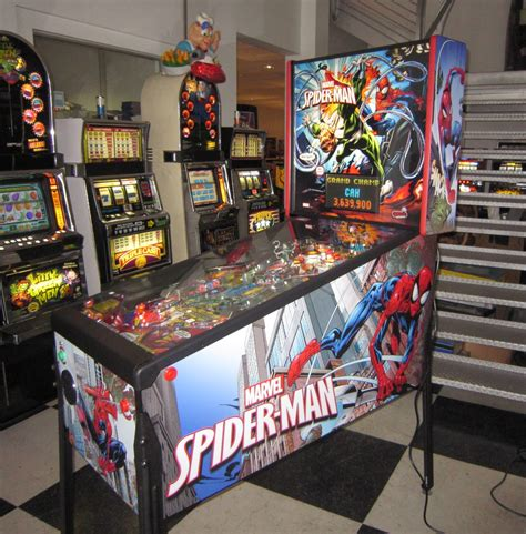 marvel s spider home edition pinball machine