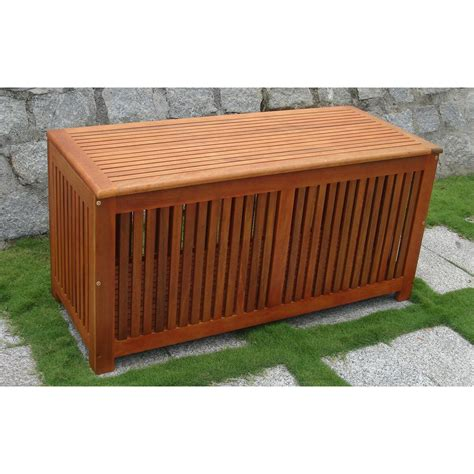 vifah 174 bresa outdoor wood storage box 218675 patio