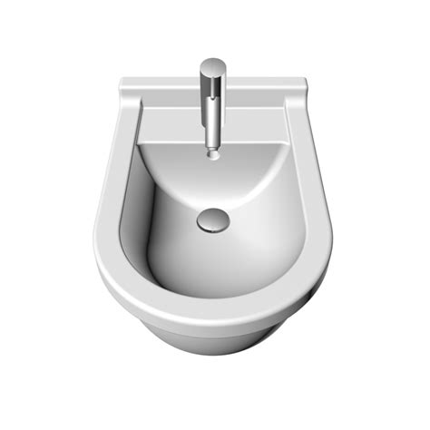bidet duravit starck 3 bidet wall mounted with overflow with tap