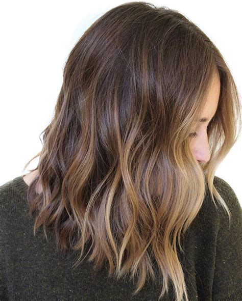 25 best ideas about shoulder length balayage on pinterest photos balayage on medium length hair best hairstyles