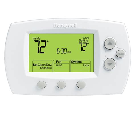 honeywell focuspro 6000 wifi thermostat