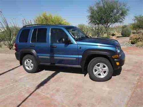 2006 Jeep Liberty Diesel Sell Used 2006 Jeep Liberty Sport Crd Turbo Diesel In Vail
