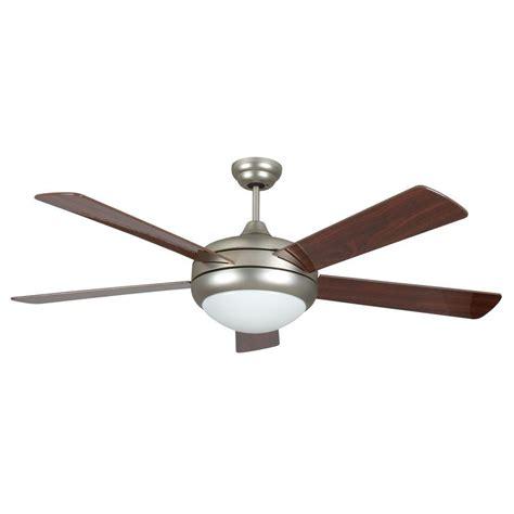 high tech ceiling fan radionic hi tech neptune 52 in satin nickel ceiling fan
