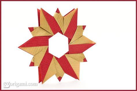 Origami Reef - origami wreath by sinayskaya go origami
