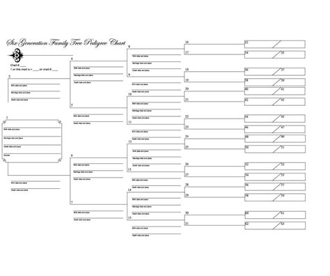 templates for family tree charts 50 free family tree templates word excel pdf ᐅ