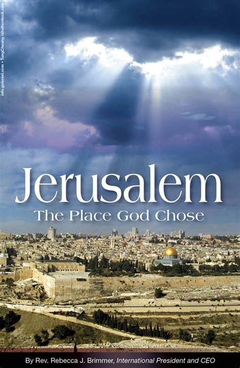 A Place With God Jerusalem The Place God Chose Bridges For Peacebridges For Peace