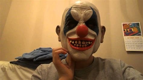 How To Make A Clown Mask Out Of Paper - mask reviews clown mask from city and frankinstein