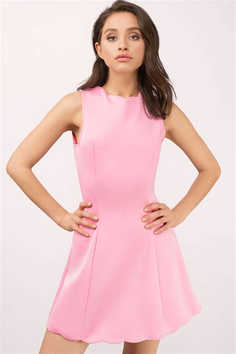 Pink Dress pink dresses light baby pink prom cocktail