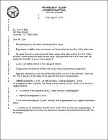 Army Letter Template Letter Of Continuity Army Best Letter Examples
