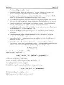 Aircraft Maintenance Manager Cover Letter by Maintenance Manager Resume Sle All Trades Resume Writing Service