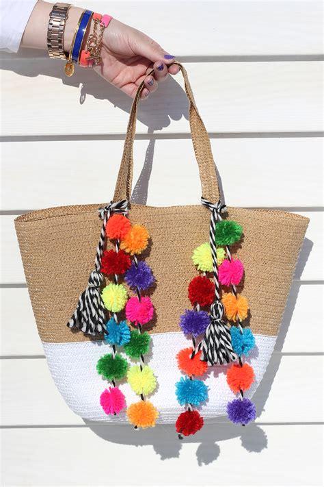 Pom Bag How To Make Your Own Amazing Pom Pom Bag