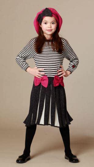 Dress Aneta kid cuteture pleated gray aneta sweater dress pink bows