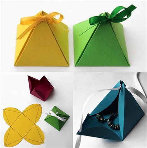 kleine box basteln geschenkverpackung basteln aus karton und kleine geschenke