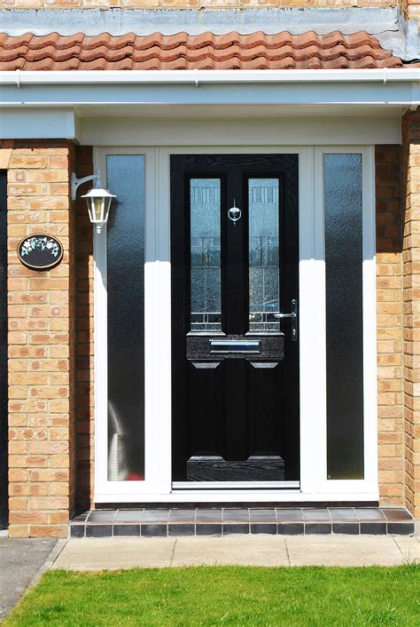 Exterior Doors With Side Panels Front Doors Appealing Front Door Side Panel Front Door Sidelight Panels Stained Glass Front