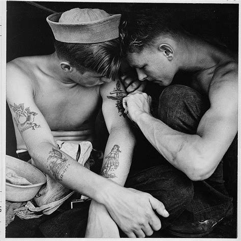 file much tattooed sailor aboard the uss new jersey nara