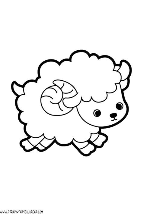 imagenes para dibujar de ovejas dibujos de ovejas 004