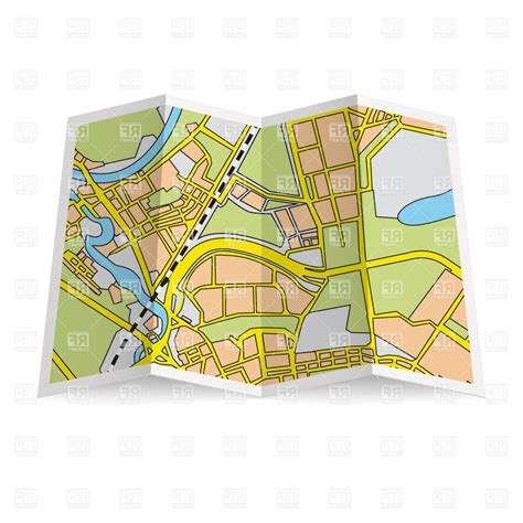 clipart map folded map clip pictures to pin on pinsdaddy