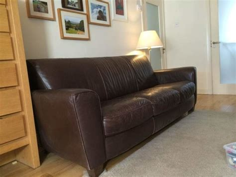 natuzzi brown leather couch beautiful 3 seater natuzzi brown leather couch for sale in
