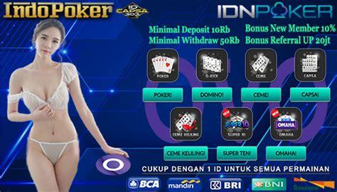 agen idnplay sediakan layanan deposit poker ovo indopoker