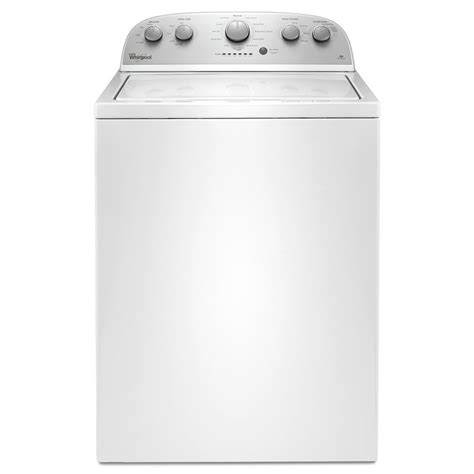 Sears Home Decor by Shop Whirlpool 3 5 Cu Ft Top Load Washer White At Lowes Com