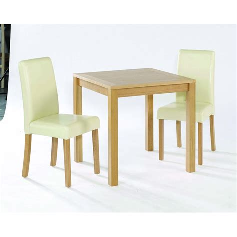 Small Two Chair Dining Set Lpd Furniture Oakvale Small Dining Table 2 Chair Set Lpd Furniture From Espra Home Uk