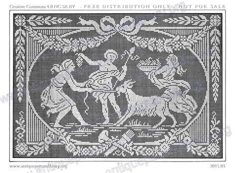 antique pattern library crochet gallery ru фото 13 le filet ancien au point de
