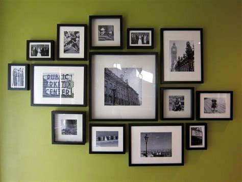 how to hang ikea ribba frames in a straight and level grid ikea ribba frame gallery wall hanging tips for the