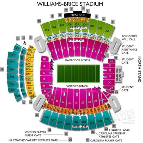 williams brice seating chart williams brice stadium tickets williams brice stadium