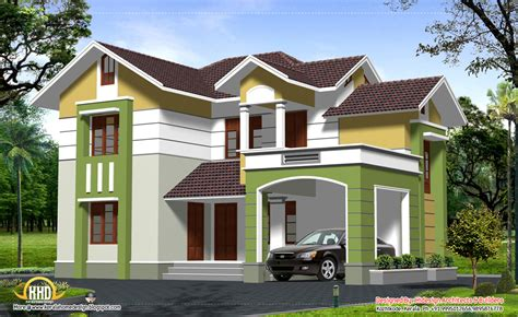 two storey house plan kerala style simple two story house traditional contemporary style 2 story home design 2537