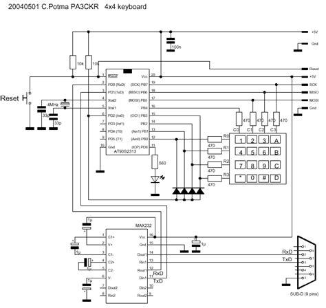 bascom pull up resistor bascom and avr keyboard