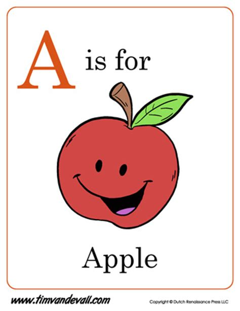 a is for apple letter a coloring page pdf