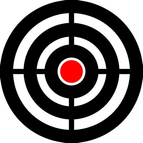 target bullseye aim  vector graphic  pixabay