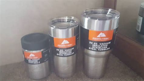 Mug Vs Cup 25 for all 3 ozark trail tumbler s amp koozie with part
