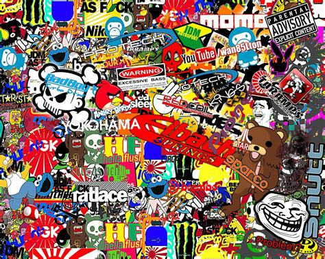sticker wallpaper top details about hoonigan bomb wallpapers