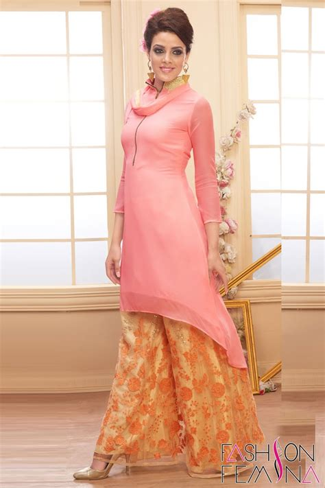 plazo suit hairstyle on plazo pics dusty pink party wear plazo salwar