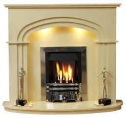 Gas Fires And Surrounds Gas And Marble Surround Ebay