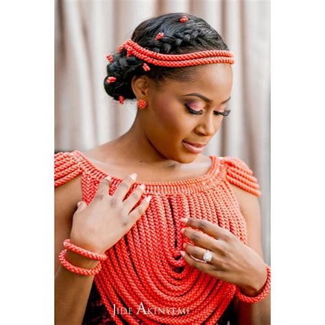 latest and most beautiful yoruba traditional wedding outfits fashion gallery lovely beads for traditional wedding