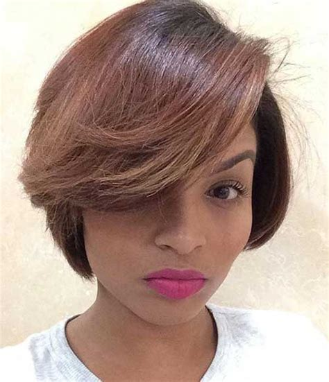 light brown hairstyles on black women 20 cute bob hairstyles for black women short hairstyles