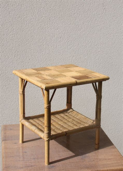 Small Wicker Table by Small Coffee Table Small Table Wicker Rattan Bamboo Straw