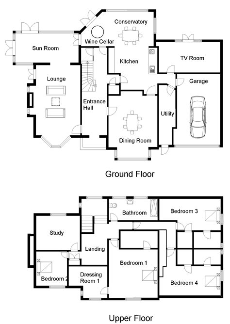 floor plan programs 1 floor plan software easy to use get planning permission