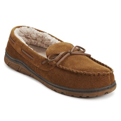 s slippers genuine suede moc slipper s slippers rockport 174