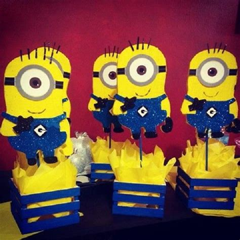 birthday themes minions image gallery minion decorations