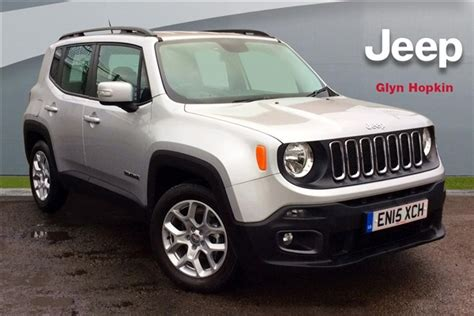 jeep renegade silver used 2015 jeep renegade 1 4 multiair longitude 5dr in