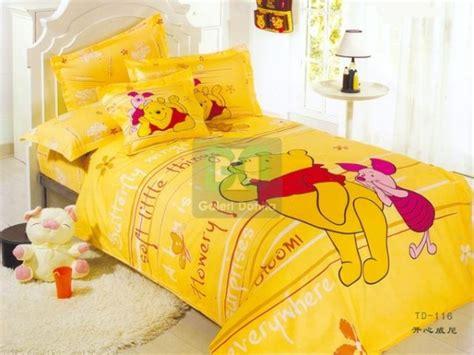 Tempat Tisu Sofa Pooh Yellow small japan bed sheet with yellow pooh piglet motive home interior design ideas