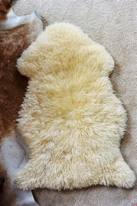 Ikea Schaffell by With A Dash Of Whimsy Diy Sheepskin Stool