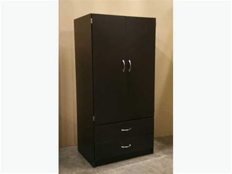 new espresso brown wardrobe closet armoire richmond vancouver
