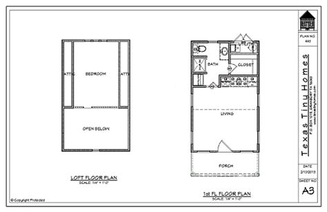 tiny texas houses floor plans texas tiny homes plan 448