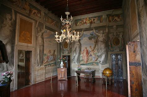 Villa Rotonda Interior by Painting Is Silent Poetry Andrea Palladio