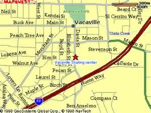 california map vacaville